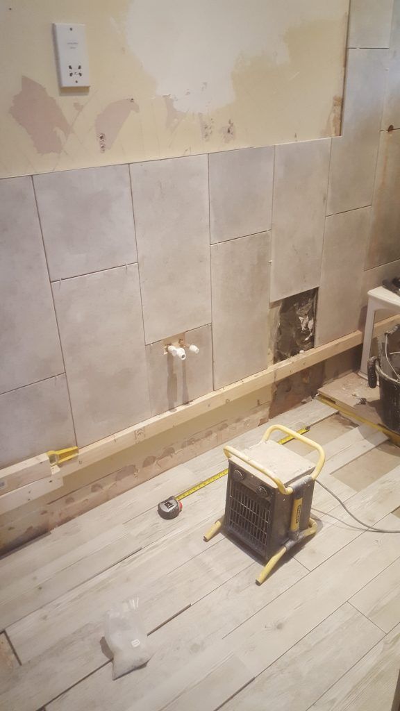 Tiling Where Wall Meets Floor