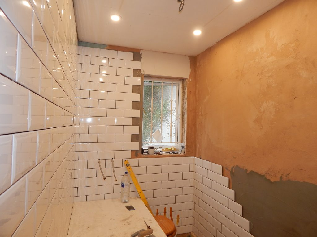 Where to Start Tiling in a Small Bathroom